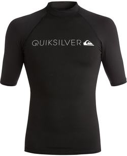 Heater Graphic-Print Logo Rashguard by Quiksilver in Mechanic: Resurrection