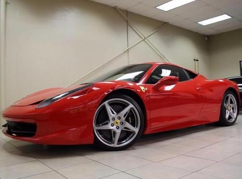 2010 458 Italia Coupe by Ferrari in Bastards