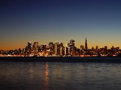 California, USA by San Francisco in Godzilla