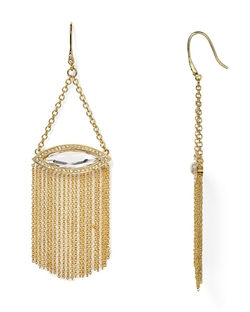 Fringe Chandelier Earrings by Rebecca Minkoff in Easy A