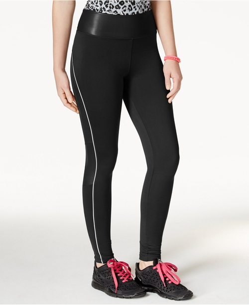 The Warm Up Active Leggings by Jessica Simpson in Whiskey Tango Foxtrot