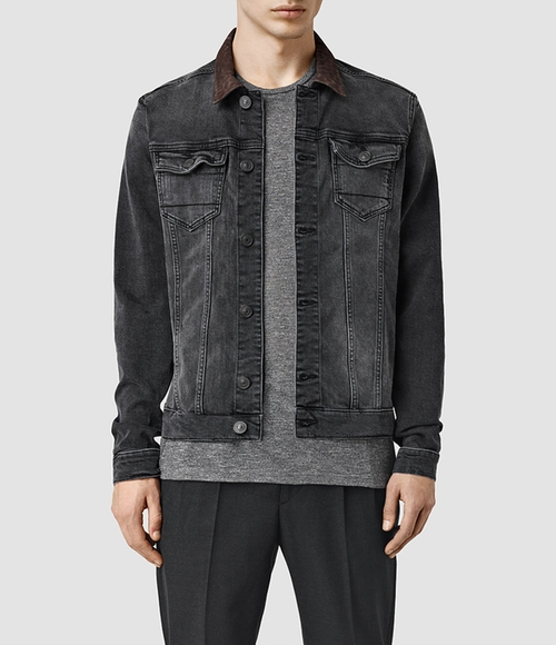 Bering Denim Jacket by AllSaints in Animal Kingdom - Season 1 Episode 9