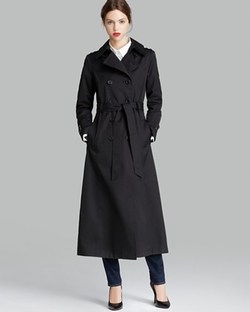 Double Breasted Trench Coat by DKNY in That Awkward Moment