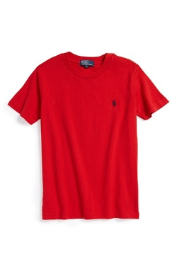Cotton Crewneck T-Shirt by Ralph Lauren in Max