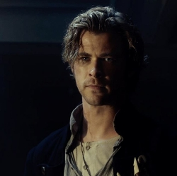 Custom Made Henley Shirt (Owen Chase) by Julian Day (Costume Designer) in In the Heart of the Sea