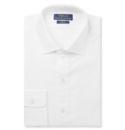 White Cotton Shirt by Polo Ralph Lauren in The Spy Who Loved Me