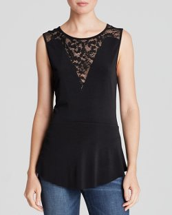 Lace Tank Top by Velvet by Graham & Spencer in That Awkward Moment
