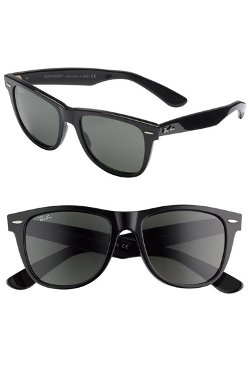 'Classic Wayfarer' Polarized Sunglasses by Ray-Ban in The DUFF