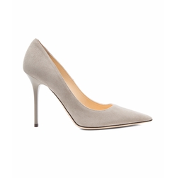 Abel Pointed Suede Pumps by Jimmy Choo in Arrow