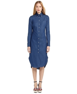Button-Down Shirt Dress by Brooks Brothers in Atonement