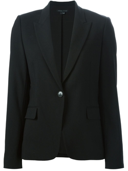 Peaked Lapel Blazer by Theory in Scandal