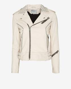 Wenda Studded Leather Jacket by IRO in Pretty Little Liars