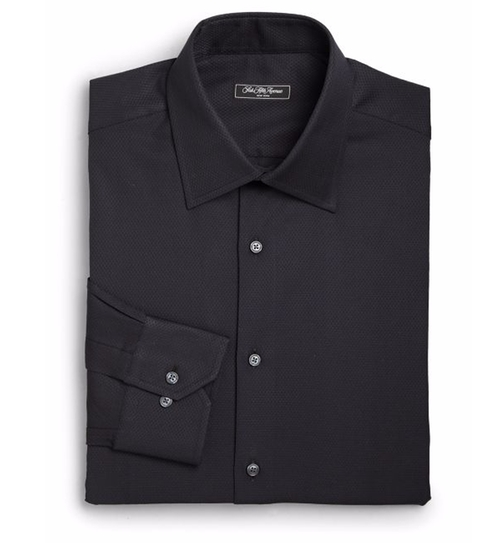 Classic-Fit Solid Dress Shirt by Saks Fifth Avenue Collection in Shadowhunters - Season 1 Looks