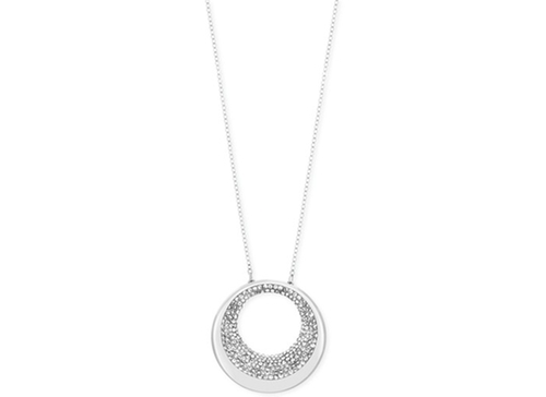 Pebble Crystal Pavé Pendant Necklace by Swarovski in Youth
