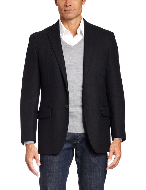 Men's Lambswool Sport Coat by Joseph Abboud in Taken 3