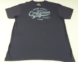 Enduring Authentic Graphic Tee by Craftsman Tools USA in The Ranch