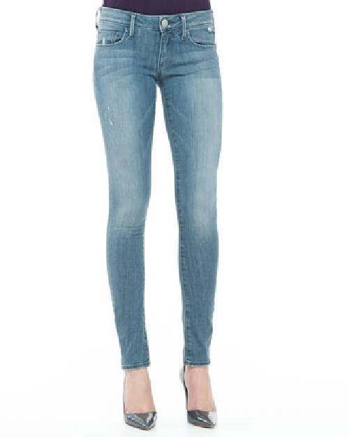Jude Blue Roots Skinny Jeans by True Religion in Oculus