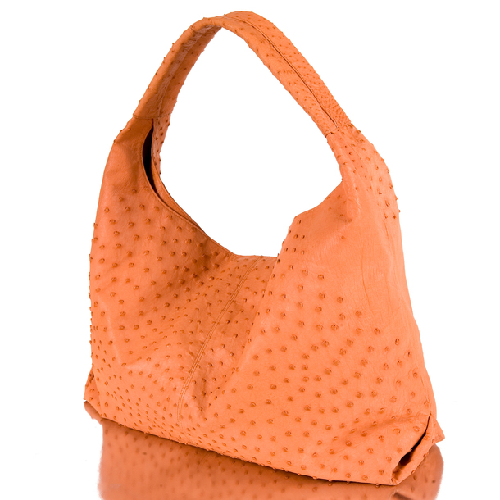 Ostrich Hobo Orange Bag by Adriana Castro in Sex and the City 2