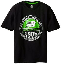 Boys 8-20 Short Sleeve Jersey T-Shirt by New Balance in Wish I Was Here