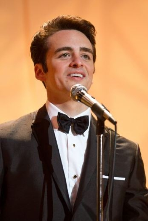 Custom Made Tuxedo Shirt by Anto Beverly Hills in Jersey Boys