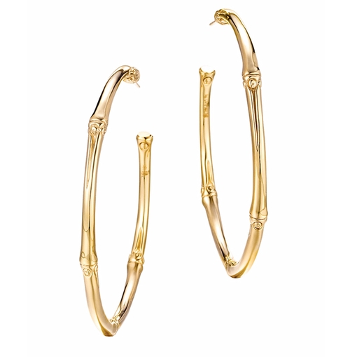Large Hoop Earrings by John Hardy in Keeping Up With The Kardashians