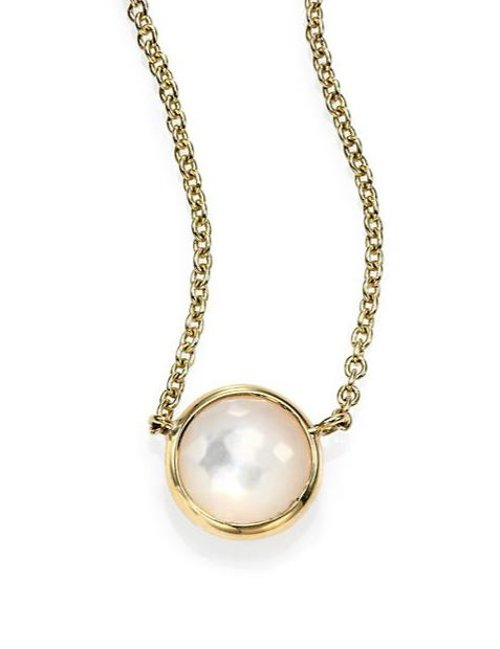Lollipop Mini Pendant Necklace by Ippolita in While We're Young