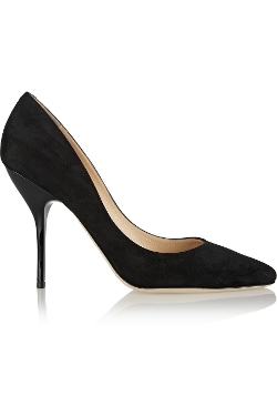 Mitchel Suede Pumps by Jimmy Choo in The Gift