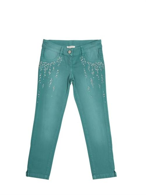 Skinny Stretch Jeans With Strass by Miss Grant in Prisoners