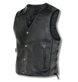 Mens Joker Vest by Milwaukee Motorcycle Clothing Company in Ride Along