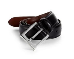 Leather Belt by Saks Fifth Avenue Collection in Sisters