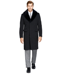 Fur Collar Chesterfield Coat by Brooks Brothers in The Last Witch Hunter