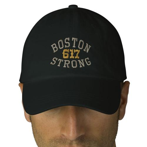 Boston Strong 617 Embroidered Hat by Zazzle in Blended