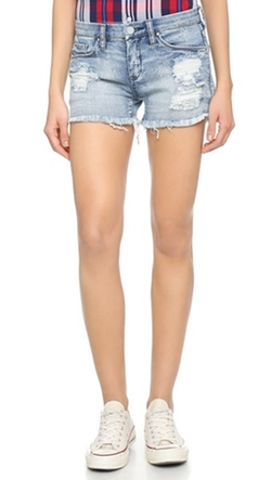 Distressed Cutoff Shorts  by Blank Denim  in New Girl