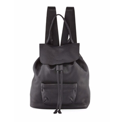 Langley Leather Backpack by Elizabeth and James in Quantico