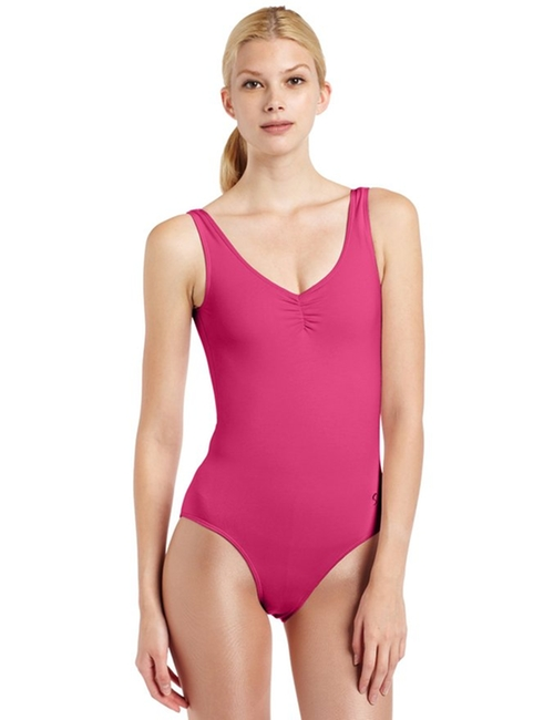 Women's Sahara Scoop Neck Tank Leotard by Sansha in Dirty Dancing