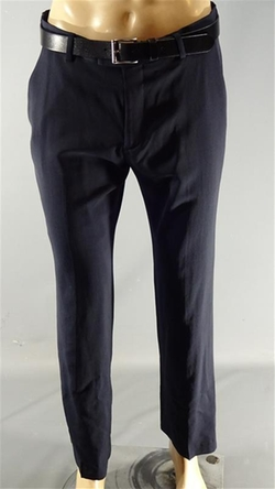 Tailored Slim Fit Dress Pants by Banana Republic in Poltergeist