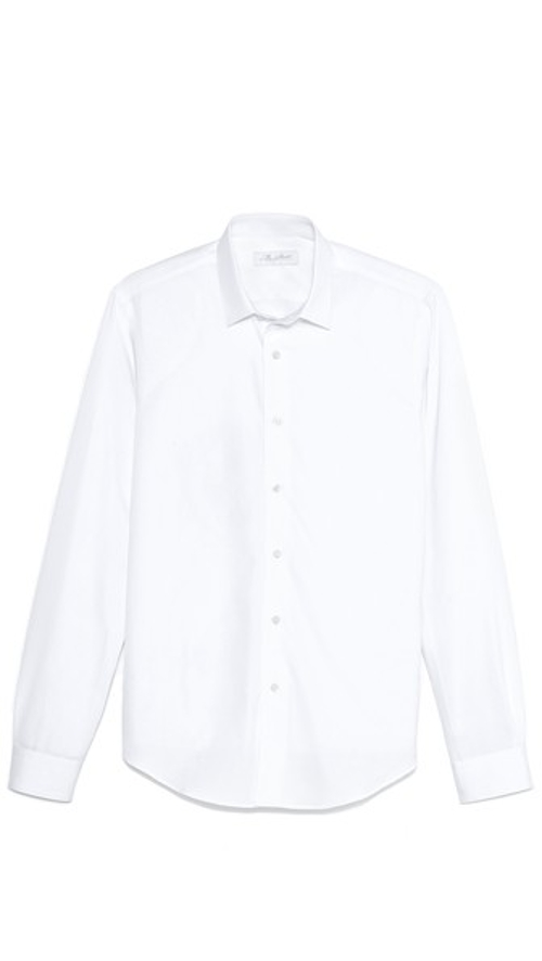 Square Collar Poplin Shirt by Mr. Start in Cut Bank