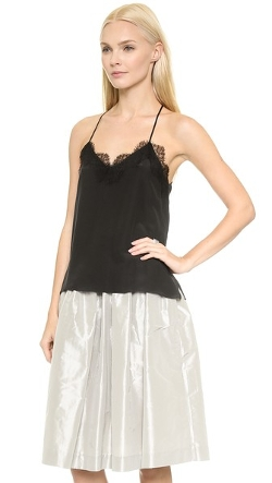 Lace Racer Camisole by One By Cami Nyc in Mean Girls