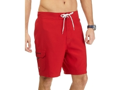 Solid Cargo Swim Trunks by Nautica in The D Train