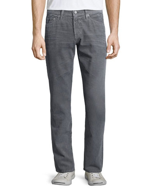 Graduate Sulfur Corduroy Pants by AG in Ride Along 2