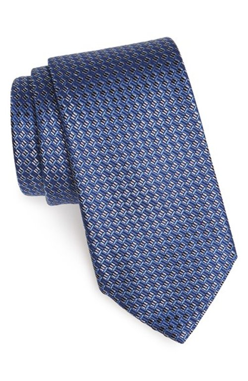 Woven Silk Tie by Ermenegildo Zegna in Fifty Shades of Grey