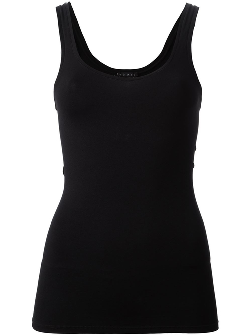 Scoop Neck Tank by Theory in Rosewood - Season 1 Episode 10