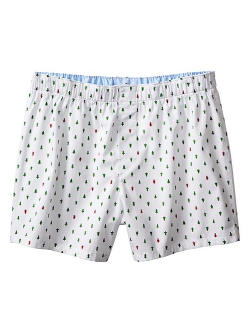 Tree-Print Boxer Shorts by Banana Republic in American Pie