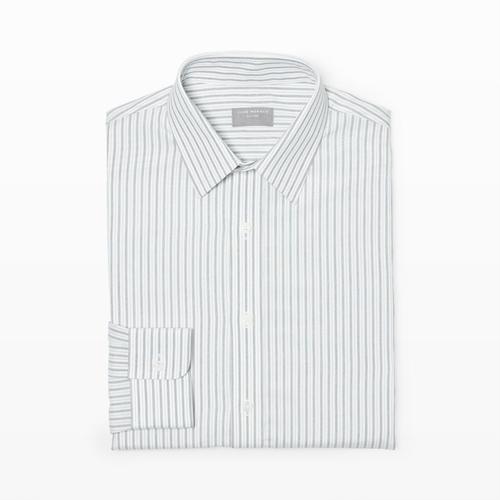 Slim-Fit Stripe Dress Shirt by Club Monaco in The Blacklist - Season 3 Episode 3
