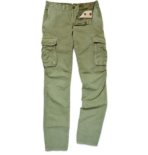 Slim-Fit Cotton Cotton Cargo Trousers by Polo Ralph Lauren in No Escape