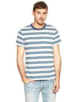 Striped Ringer T-shirt by Gap in The Expendables 3