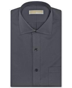 Non-Iron Twill Solid Dress Shirt by MICHAEL KORS in This Is Where I Leave You