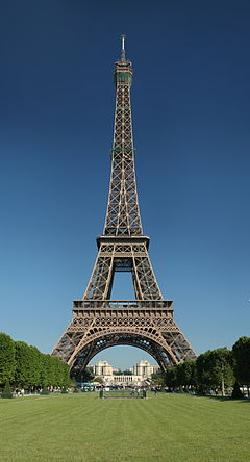 Paris, France by Eiffel Tower in X-Men: Days of Future Past
