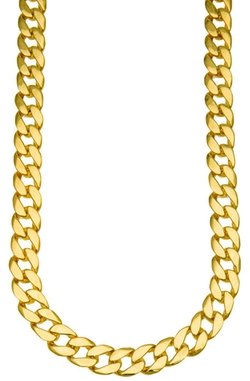 Jumbo Cuban Chain Necklace by H.H.B in Straight Outta Compton