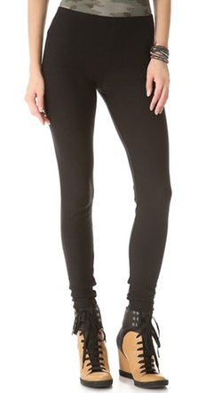 Fleece Lined Leggings by Plush in Barely Lethal
